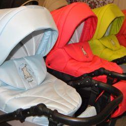 Παιδικά καροτσάκια 2v1 και 3v1 επιχειρήσεις Tutis Tapu