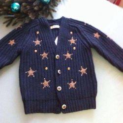 Sweater cardigan 4/5 years