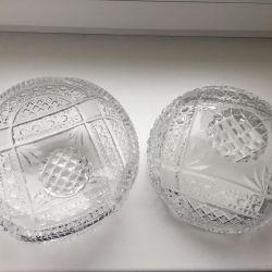 Διάμετρος κρυστάλλου βάζου 21 cm