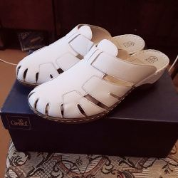 Sabot leather new 👡
