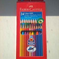 Faber castell suluboya kalemleri 24 renk