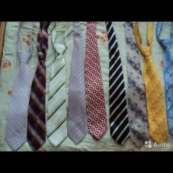 Ties 11 pieces, used