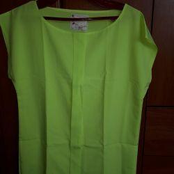 Chiffon blouse. New