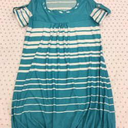 Dress with elastic