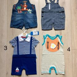 Sandbox semi-overalls for the boy