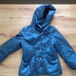 Jacket with a hood p.46