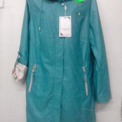 The extended windbreaker raincoat.