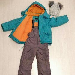 Μπουφάν 98 104 Χειμώνας jumpsuit lemmigo ως δώρο