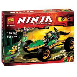 Designers Bela Ninja - analogs of Lego Ninjago