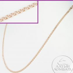 Gold chain 585 samples. Article A0360.