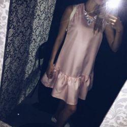 New gentle pink dress