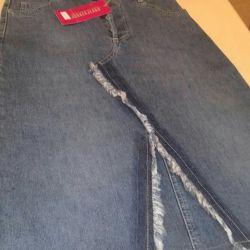 Denim skirt size s new