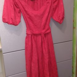 Dress loop red new in stock