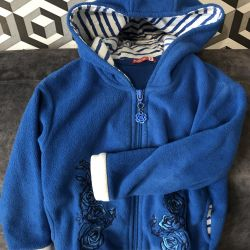 ?Tolstovka for girls warm with a hood