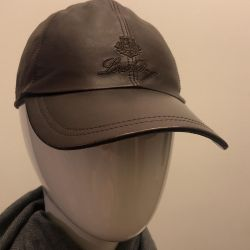 Baseball cap Loro Piana leather / cashmere