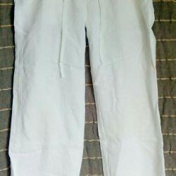 Summer trousers, linen. 40-42