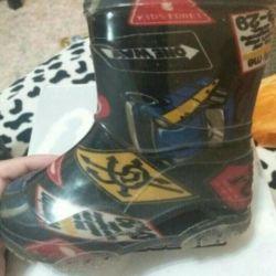 Καουτσούκ μπότες για το μέγεθος αγόρι 23 εταιρεία