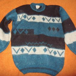 Новый мохеровый свитер
