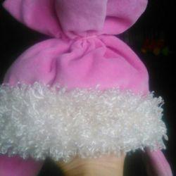 Шапка - конфетка на малышку до 1,5 года