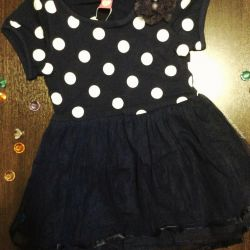 New elegant dress 110 cm
