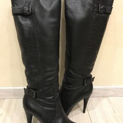 Boots mascotte leather