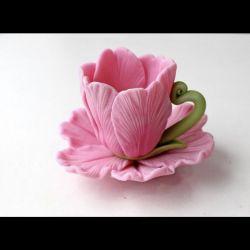 Handmade soap flowers for March 8, September 1