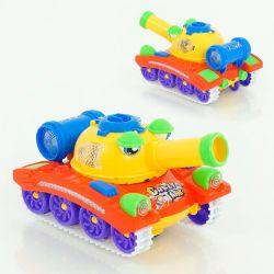 Детский танк стреляет шариками, ездеет, музыкальны