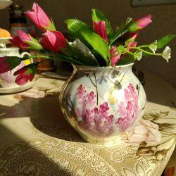 Sugar bowl-vase USSRdulyovo