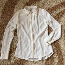 Шифон.блуза H&M