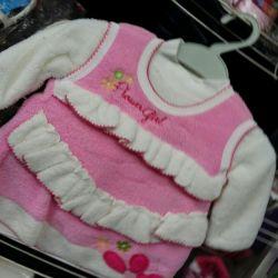 Rochie cu jacheta de iarna.