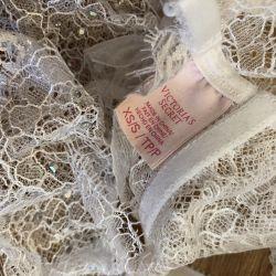 Βικτώρια μυστική κάλτσα δαντέλα