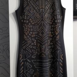 Φόρεμα με στρας και στις δύο πλευρές