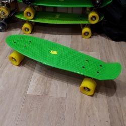 Нові скейт пенніборд до60кг