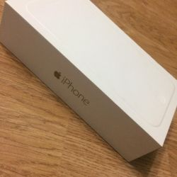 A box of iPhone 6