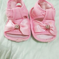 Soft sandals, 11 cm insole