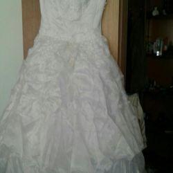 Wedding set dress with lace