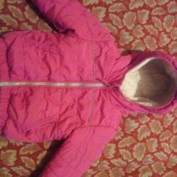 Down jacket / children's jacket, winter 80-90