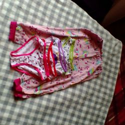 Pijama ile külot