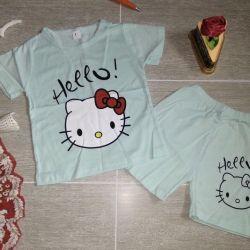 Kit. Shorts and a t-shirt