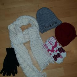 Pălării și eșarfă pentru femei