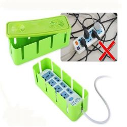 Organizer for cords and wires gray