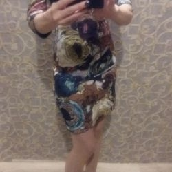 The dress. Exchange.