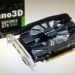 🌲 Inno3D GTX 1060 6GB N1060-6DDN-N5GM în garanție