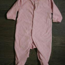 Marhercare fleece overalls