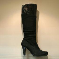 105. Autumn boots, river p.35, 37, natural zamsha, new