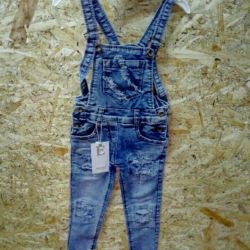 Overalls for the girl