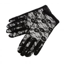 Dantel siyah eldiven yeni