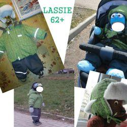 Jumpsuit + cap Lassie by Reima