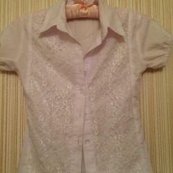 блузка жилет (школа)