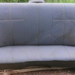 Rear seat VAZ 2107